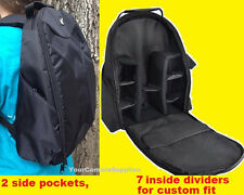PADDED BACKPACK BAG TO> CAMERA NIKON D3400 D3000 D3100 D3200 D5300 D5100 D5200