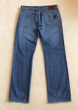 Mens Zoo York Distressed Straight Leg Jeans Button Fly Size 32x 32
