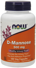 D-Mannose 500mg Now Foods 120 Caps