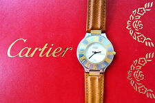 Cartier must de 21 Steel Vintage Elegant Luxury Men's Watch 35 mm Ref.126000P