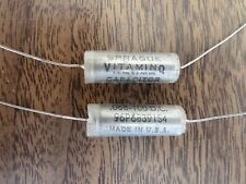 Capacitor .068 mfd 100 vdc Sprague Vitamin Q (5 pieces)