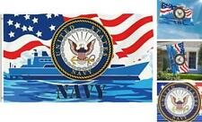 New listing Bonsai Tree 3x5 Feet Us Navy Flag - Vivid Color and Fade Resistant and Double