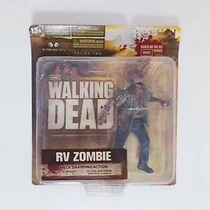 Walking Dead RV Zombie Neck Snapping Action Series 2 Figure McFarlane Toys 2012