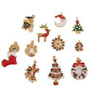 11pcs Charms Pendants Christmas Theme M6T5