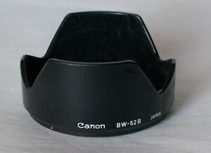 Canon BW-52B bayonet fit lens hood.