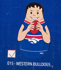 Western Bulldogs AFL Kids Original Inflatable Tackle Buddy 1m Tall New