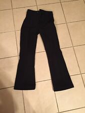 Ski Pants Womens 8R #WB400 SCHOELLER Insulated Stretchy BLACK
