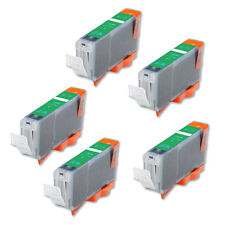 5P GREEN Quality Ink Cartridge for Canon CLI-8 Pro9000 Mark II