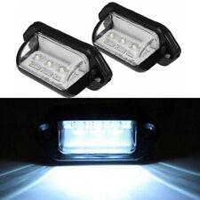 2PCS 3-LED NUMBER LICENSE PLATE LIGHT INTERIOR STEP LAMP BOAT VAN TRUCK TRAILER