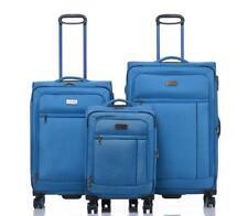 JEEP Fuji Soft Luggage 3 piece set expanding Lightweight Blue