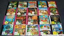20 WIMMELBILD PC SPIELE SAMMLUNG MATCH 3 GARDENSCAPES JEWEL QUEST YOUDA LEGEND