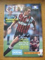 28/01/1995 Manchester City v Aston Villa [FA Cup] . No obvious faults, unless de