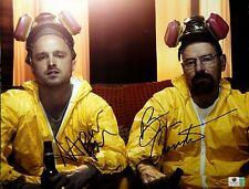 Aaron Paul & Bryan Cranston ++ Autogramm ++ Breaking Bad ++ Autograph