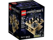 "NEW LEGO MINECRAFT ""THE END"" Set 21107 sealed CUUSOO MICRO WORLD black box 2014"