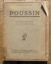 Poussin,Gilles de la Tourette,dedicacé , 60 planches, Rieder editions 1929