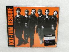 Japan KAT-TUN Rescue On Your Mind Taiwan Ltd CD +Bonus