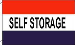 3x5 Advertising Self Storage Flag 3'x5' Banner Brass Grommets 100D