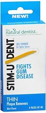 Stim-U-Dent Plaque Removers Thin Mint 160 Each (Pack of 5)
