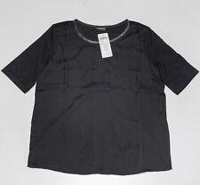 Taifun Black Blouse Size S Top