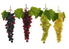 N°1 Grappolo X 85 Uva Grande H.29 Cm Chicco 20 Mm frutta artificiale decorazione