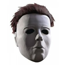Michael Myers Mask with Hair Costume Accessory Adult Halloween Halloween