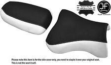 Diseño 2 Negro Blanco Vinilo Personalizado Se Ajusta Kawasaki ZX9R 98-02 DELANTERO TRASERO SEAT COVER