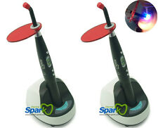 2x Spark Black Color Cordless Led Curing Light Dental Equipment 9W 2000mw,CE