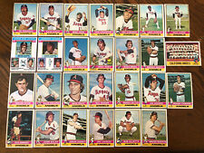 1976 CALIFORNIA ANGELS Topps Complete Baseball Team Set 27 Cards RYAN RIVERS !