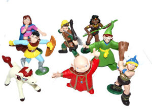 """80010-""""Dungeons & Dragons Set"""" Serie Dunken Masters 1986 Maia & Borges-NEW!!"""
