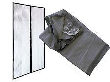 Zanzariera tenda magnetica con calamita ritagliabile chiusura 240x140 GRIGIA
