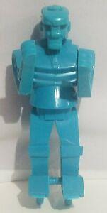 "Rockem Sockem Robots Blue Bomber Boxing Robots Replacement Figure 6.5"" Mattel"