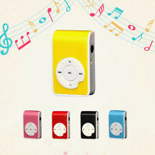 Mini Clip USB MP3 Player Plastic Supports Micro 32GB SD TF Karte Sports Stil