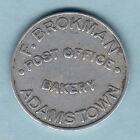 Australia. BREAD TOKEN. F.Brokman - Post Office Bakery.. Adamstown.. aVF