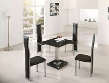 Up to 4 Seats Modern Table & Chair Sets with Flat Pack