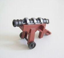 PLAYMOBIL (L2223) MOYEN-AGE - Canon à Massues Noires sur Roues 4870