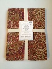 Williams Sonoma Julia Tapestry Tablecloth 70 x 108 New w/ Tags Orange Rust Green