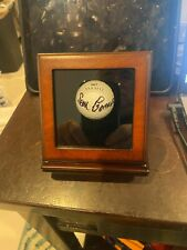 Sean Connery autographed golf ball one of 12 signed with 007