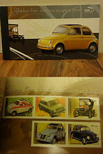 GREECE 2005 STAMP BOOKLET LEGENDARY CARS MNH** NEW - UNUSED FV 5.91 euros