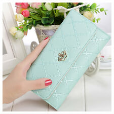 Fashion Women Handbag Bags Long Clutch Purse Wallet Card Holder PU Laether
