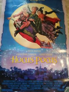 HOCUS POCUS (1993) ORIGINAL MOVIE POSTER -  ROLLED  DOUBLE-SIDED  -  ART BY DREW