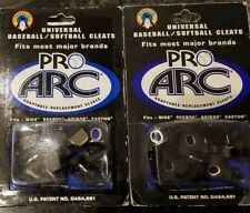 2 packs Penguin Pro ARC Replacement  Baseball Metal Cleats Screw In Set 14  each