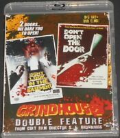 GRINDHOUSE DOUBLE FEATURE s.f. brownrigg USA BLU-RAY & DVD new HOUSE HORROR