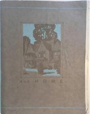 Scarce 1930s Hackney Furnishing Company Catalogue/Correspondence Interior Design
