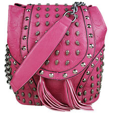 Girls PU Leather Birds Flower Backpack Handbag School Travel Shoulder Bag