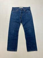 LACOSTE STRAIGHT FIT Jeans - W33 L28 - Blue - Great Condition - Men's