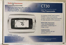 Programmable thermostat 7 Day CT30 Gas, Electric and Heat Pump Compatible