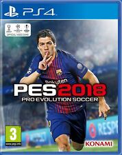 Pro Evolution Soccer (PES) 2018 Standard Edition (PS4) NEW & SEALED