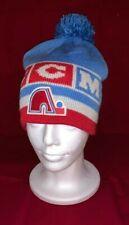 Quebec Nordiques CCM Vintage NHL Retro Knit Hat Blue Pom Avalanche NEW!!!