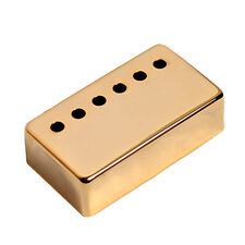Gold Metal Guitar Humbucker Pickup Cover For Gibson replacement 52mm Pole Space