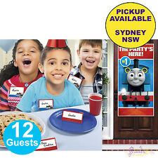 THOMAS THE TANK ENGINE PARTY SUPPLIES NAME TENT CARDS BIRTHDAY DOOR BANNER